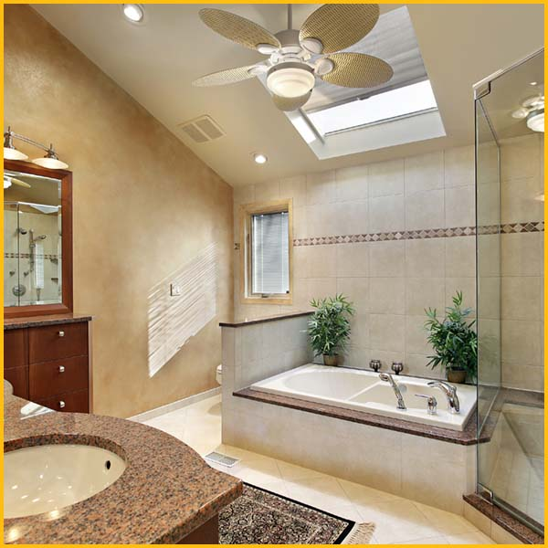 bathroom ceiling fans