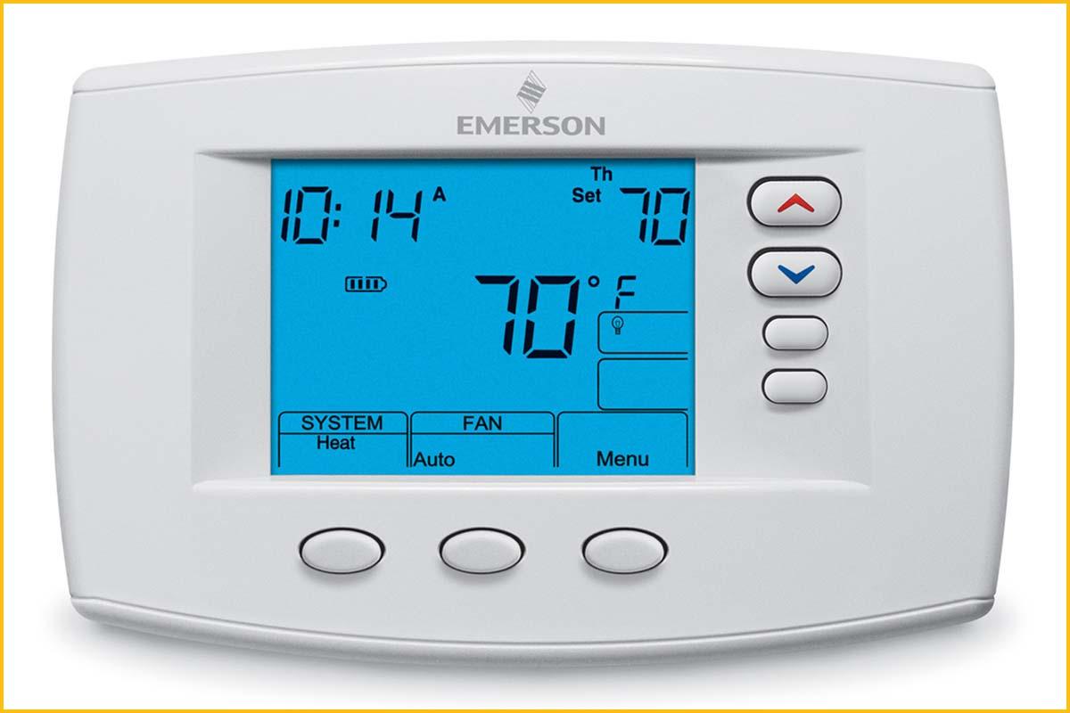 digital thermostat hook up